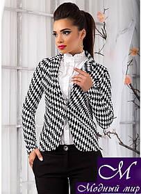 Женский пиджак в шахматку (S, M, L, XL) арт. 9803