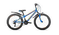 "Велосипед Intenzo Energy V-brake 24"" сине-оранжевый"