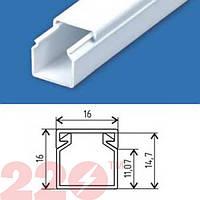 Кабельный канал пластик 16х16 мм