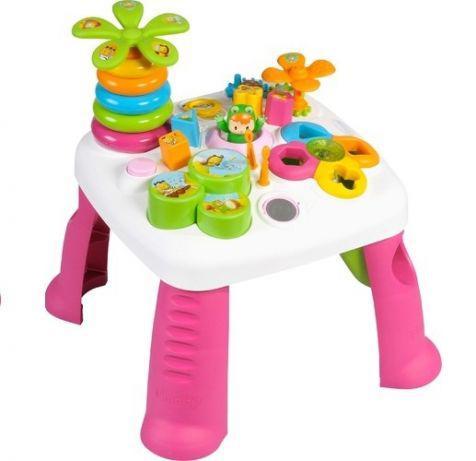 Детский игровой стол Smoby Toys Cotoons Цветочек со звуковыми и световыми эффектами 211170