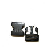 Застежка Фастекс черный (2 см)Карабин В уп 50шт