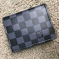Кошелек Louis Vuitton 18375 черно-серый