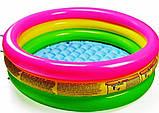 Детский надувной бассейн Intex 58924 Радуга 86 х 25 см, фото 7