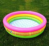 Детский надувной бассейн Intex 58924 Радуга 86 х 25 см, фото 6