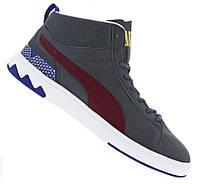 100% Оригинал Кроссовки сникерсы ботинки женские мужские на шнурках унисекс PUMA Mid 2 Размер 38, 38,5, 39