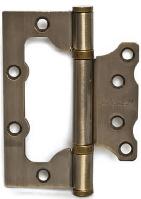Петля дверная карточная Apecs 100*75*2,5-B2-Steel-AB античная бронза