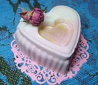 """Мыло """"розовое дерево"""" с розой дамасской 100 грамм (сварено с нуля)"""
