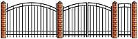 Секционное металлическое ограждение   Цена на секционные металлические секционные ограждения от производителя