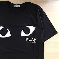 Футболка COMME DES GARCONS PLAY Ayes, Копия