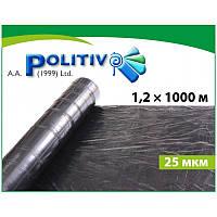 Пленка мульчирующая Politiv E1103 черная 25мкм.