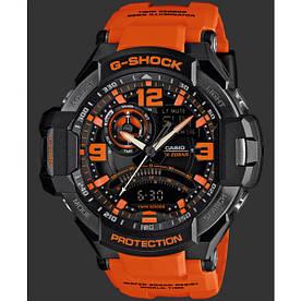Мужские часы с каучуковым ремешком Casio GA-1000-4AER