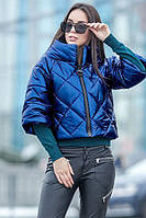Красивая  демисезонная  куртка  Modena электрик (42-50)