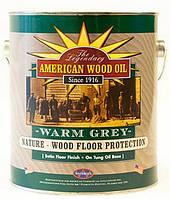 ТВ 6025 Warm Grey тепло-серое тунговое масло 100 мл (отлив) для покрытия древесины внутри помещений