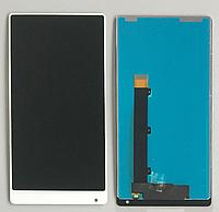 Оригинальный дисплей (модуль) + тачскрин (сенсор) для Xiaomi Mi Mix (белый цвет)