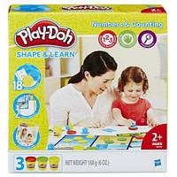 Игровой набор Плей До Числа и счет Play-Doh Shape and Learn Numbers and Counting, Hasbro