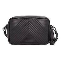 Удобная сумочка - клатч в стиле Mango Touch. Черная