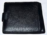 Мужской черный кошелек из натуральной кожи Tailian, фото 2