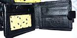 Мужской черный кошелек из натуральной кожи Tailian, фото 3