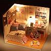 Модель кукольного домика для самостоятельной сборки