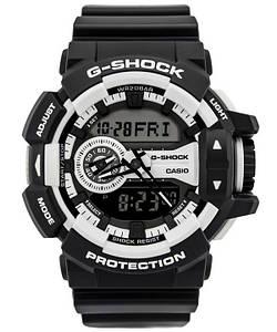 Мужские часы с каучуковым ремешком Casio GA-400-1AER