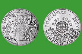 Португалия 2,5 евро 2017 г. Карнавал Карету в Траз-уш-Монтиш , UNC