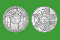 Португалия 5 евро 2017 г. Эпоха стекла и металла , UNC