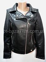 """Куртки женские оптом """"Felix-Farz"""", кожзам (S-2XL)"""