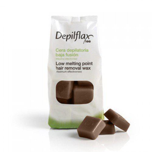 Горячий воск Шоколад Depilflax (1кг).