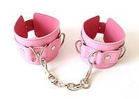 НАРУЧНИКИ цвет розовый, (PVC)