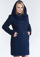 Пальто женское №17 ЗИМА (синий)