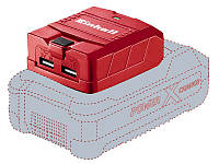 Usb адаптер для аккумуляторов Einhell TE-CP 18 Li USB-Solo, фото 1