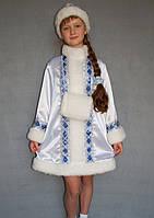 Карнавальный костюм белый Снегурочка №1/1