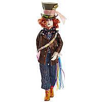 Коллекционная кукла Дисней Безумный Шляпник / Alice Through the Looking Glass Deluxe Mad Hatter Collector Doll