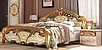 Кровать  «Реджина голд» 1,6 без каркаса. Миро Марк., фото 2