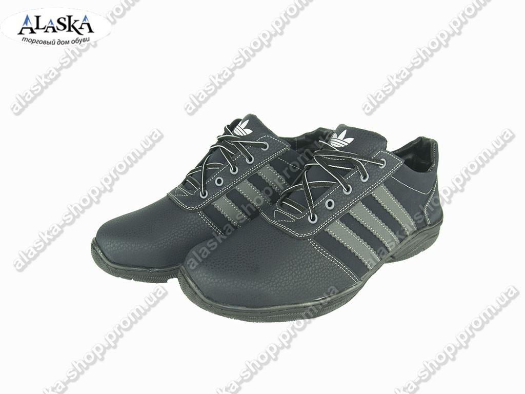 Мужские кроссовки (Код: Yulius 57 синий )