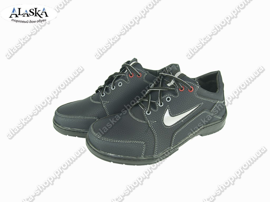 Мужские кроссовки (Код: Yulius 32 синий )
