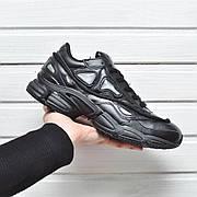 Мужские кроссовки Adidas x Raf Simons Ozweego II Triple Black
