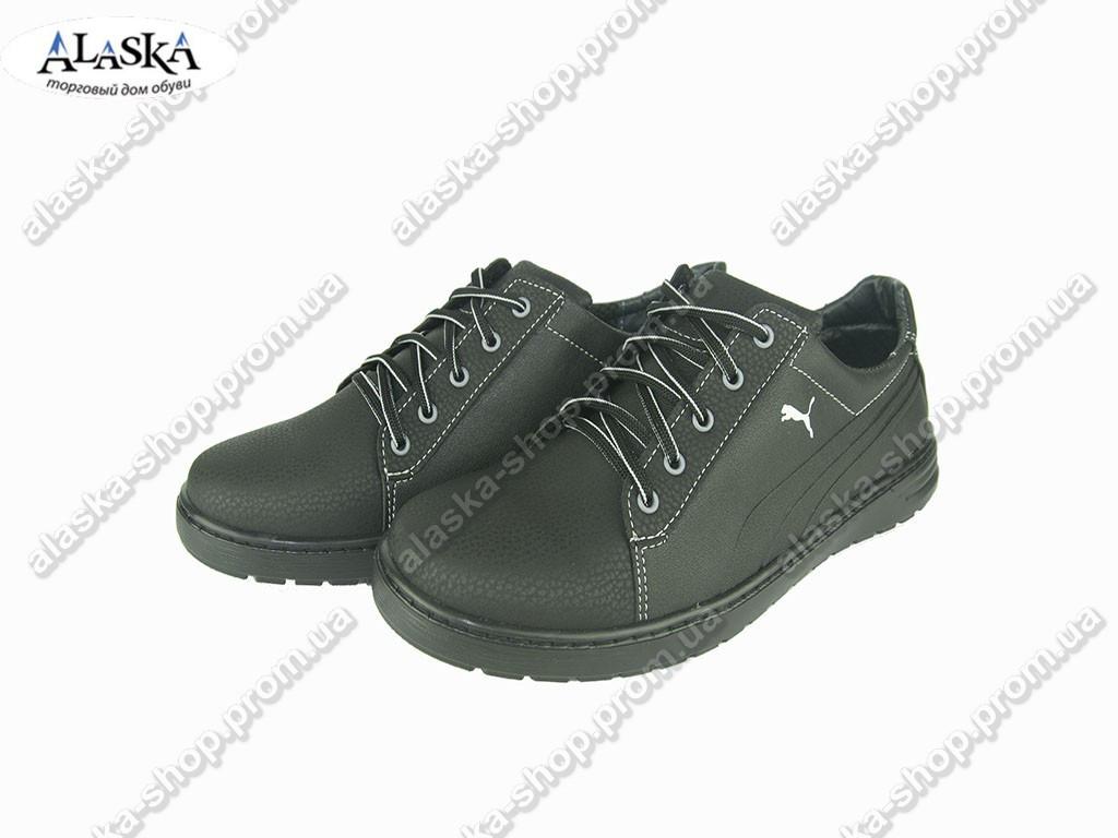 Мужские кроссовки (Код: Yulius 59 черный )