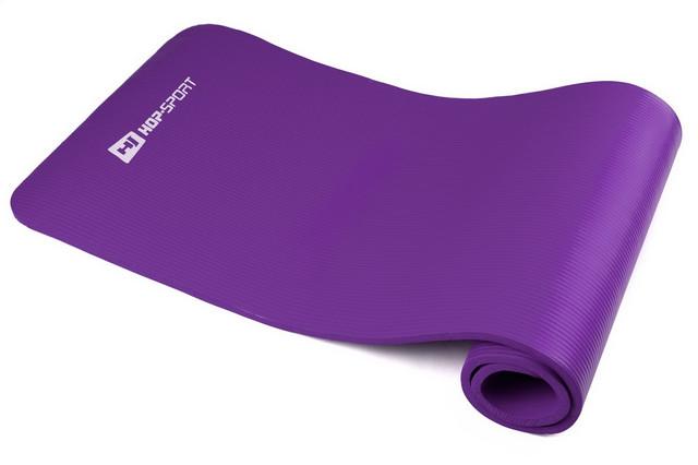 Купить коврик-мат для йоги и фитнеса «Hop-Sport» (NBR) 1730x610x15мм