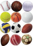 Мячи футбольные, волейбольные, баскетбольные