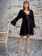 Нежный ажурный женский халат