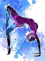 Рисование по номерам (без коробки) Звездная йога