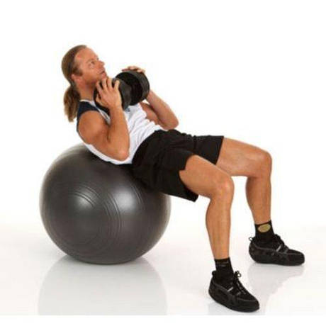 Фитбол усиленный для оздоровительной гимнастики, диам. 75 см TOGU Powerball Германия (до 500кг)