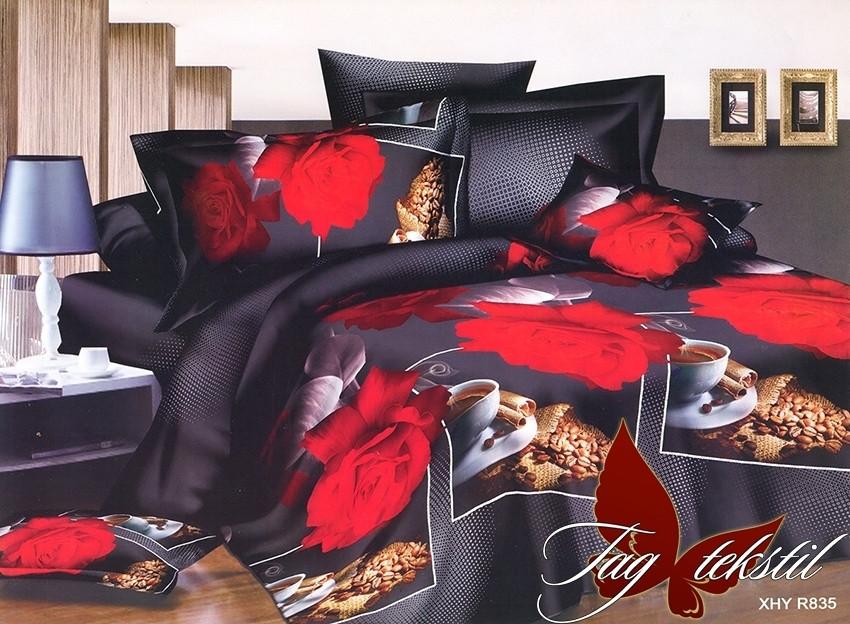 Комплект постельного белья R835 полуторный (TAG(1,5-sp)-534)