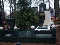 """Памятник из зеленого мрамора """"Змеевик""""  № 98"""