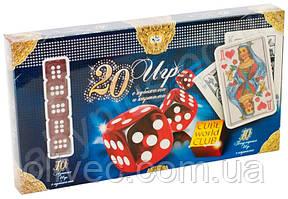 20 игр с кубиками и картами