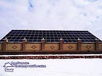 Мережева сонячна електростанція 30 кВт смт. Брусилів