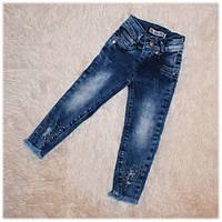 Модные джинсы детские рваные на девочку CITY WEAR размер 92 98 104 110 116