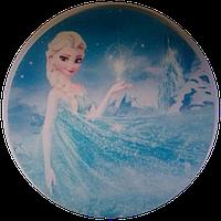"""Вафельная картинка """"Холодное сердце № 2"""", диаметр 20 см"""