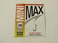 Крючки MiniMax Plain Shank # 10 BLN 10шт. ring (SW-1114)